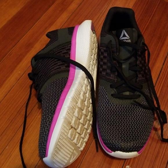 Reebok Shoes | Reebok Black And Purple